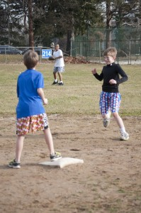 Youth Baseball Tryouts